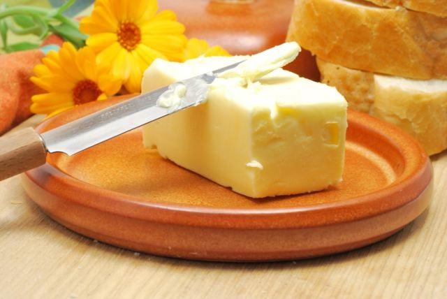 сливочное масло и синяк